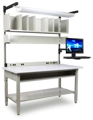 Preconfigured Packing Station with Accessories